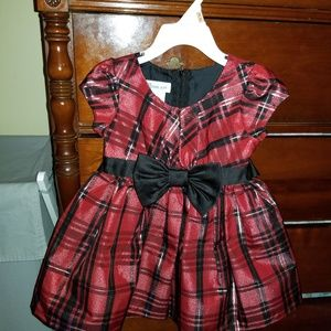 2T toddler holiday dress